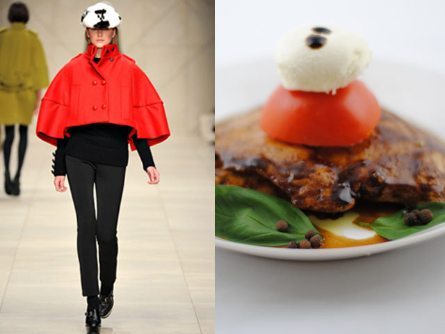 Taste of Runway presenta: Burberry Prorsum - pollo all'aceto balsamico