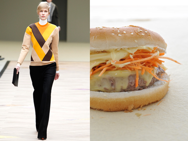 Taste of Runway presenta: Cline - hamburger