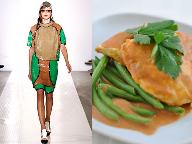 Taste of Runway presents: Marni - curry chicken