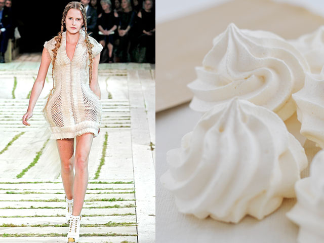 Taste of Runway presenta: Alexander McQueen - meringhe