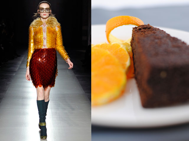 Taste of Runway presenta: Prada - torta di cioccolato all'arancia