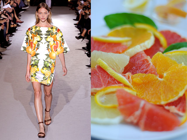 Taste of Runway presents: Stella McCartney - citrus fruit compote
