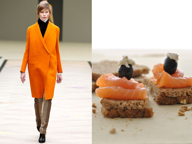 Taste of Runway presents: Céline - homemade rye bread with smoked salmon and fresh cheese