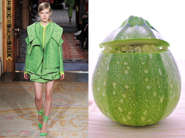 Taste of Runway presenta: Antonio Berardi - zucchine al forno profumate