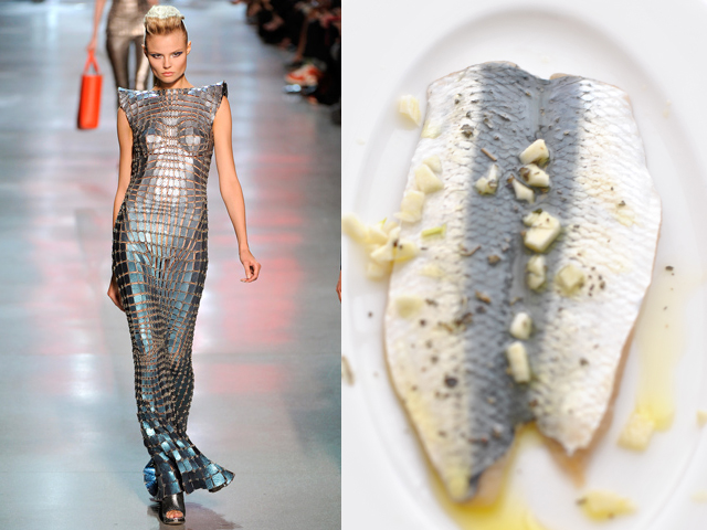 Taste of Runway presenta: Paco Rabanne - sardine marinate