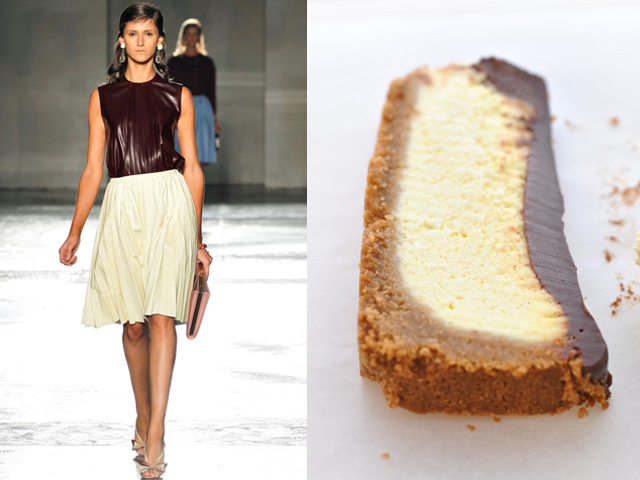 Taste of Runway presenta: Prada - cheese cake