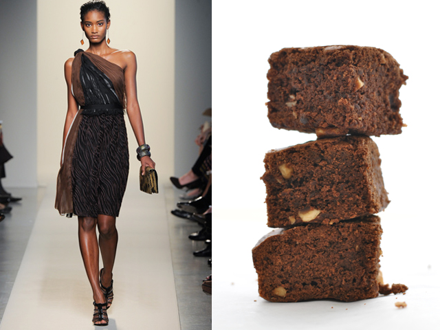 Taste of Runway presents: Bottega Veneta - brownies