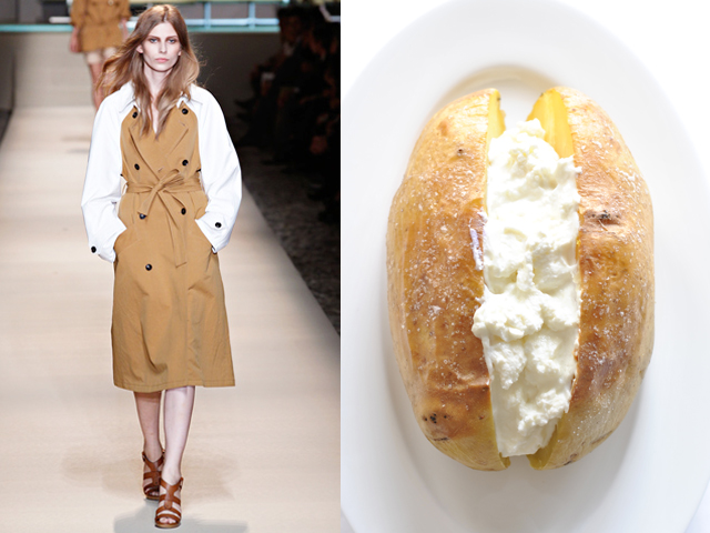 Taste of Runway presenta: Trussardi - basic baked potato  