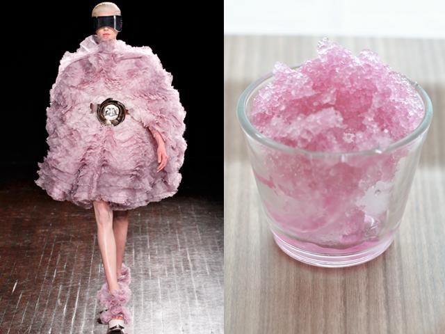 Alexander McQueen Digestivo allo Champagne