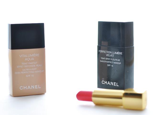 Chanel Fondotinta Rossetto