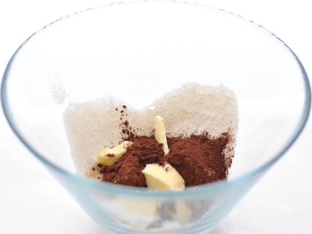 Crumble al cacao