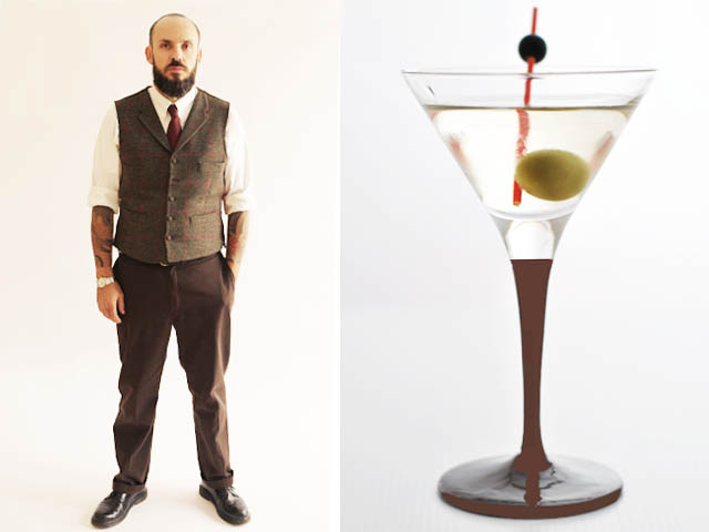 Romano Brida Dirty Martini