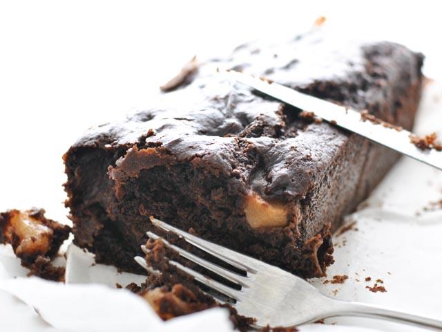 Plumcake pere cioccolato