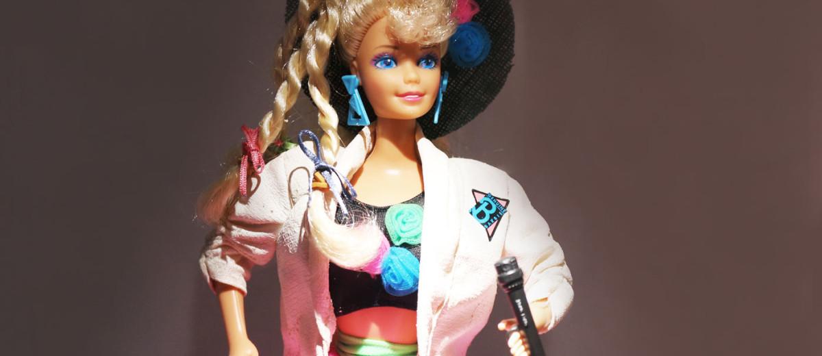 Barbie-parallax