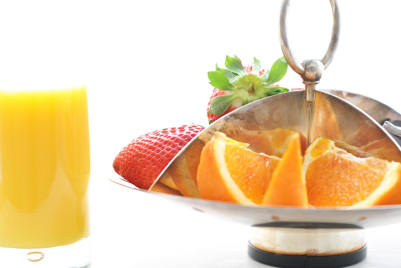 frutta e spremute fresche