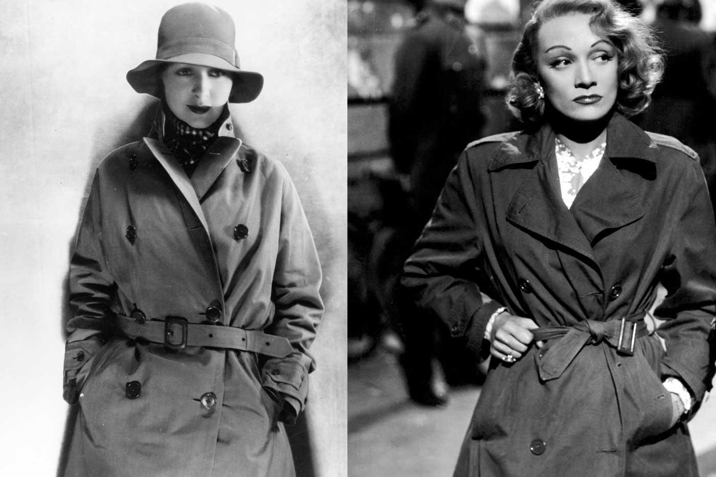 Greta-Garbo-Marlene-Dietrich-trench