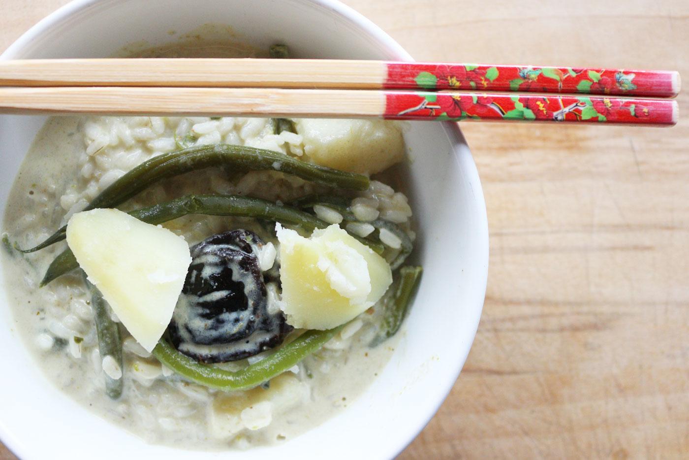 Riso-curry-verde-verdure